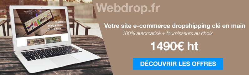 e commerce clé en main dropshipping sans stock
