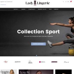 Site e-commerce (A VENDRE) en dropshipping Lingerie