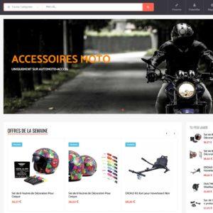 Site e-commerce (À VENDRE) en dropshipping auto-moto
