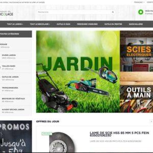 site e-commerce dropshipping bricolage