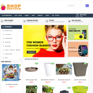 site e-commerce dropshipping cdiscount