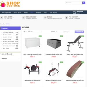 Site e-commerce dropshipping Généraliste Cdiscountpro