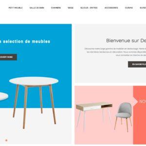 Site e-commerce (À VENDRE) en dropshipping décoration