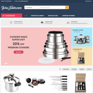 Site e-commerce (À VENDRE) en dropshipping accessoires de cuisine