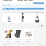 page catégorie pour site e-commerce dropshipping pour enfants