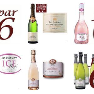 gamme de champagne en dropshipping