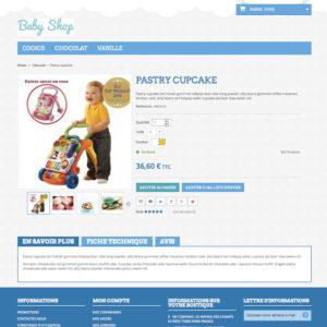 site e-commerce en dropshipping sans stock pour enfant