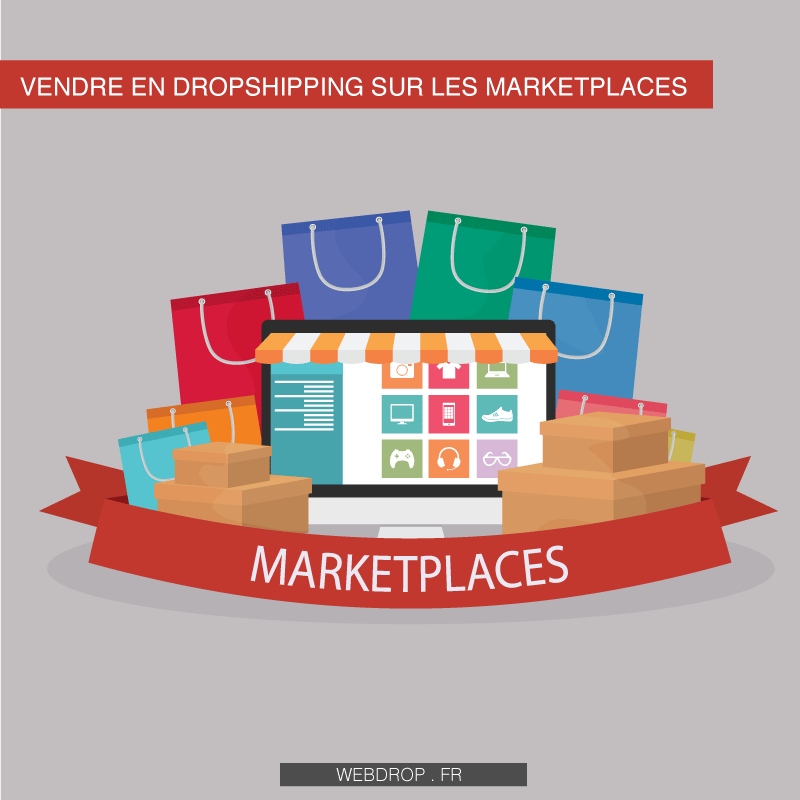 e-commerce Dropshipping places de marché