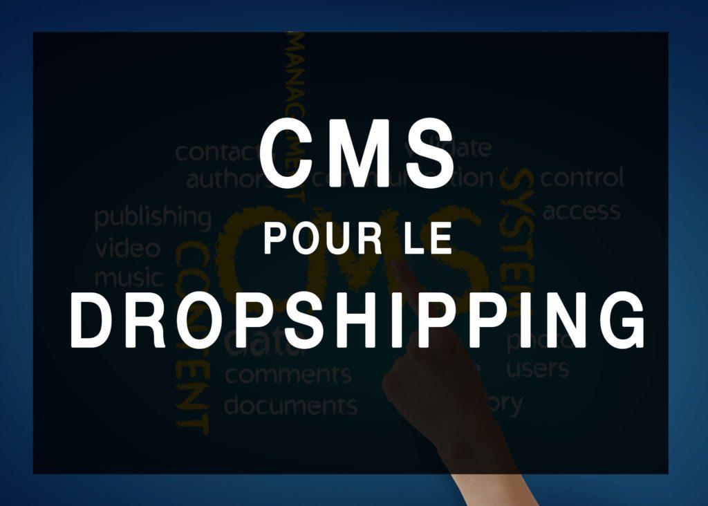 CMS pour le drop shipping