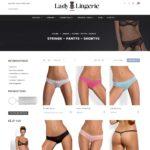 page catégorie site en vente dropshipping lingerie