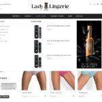menu 2 site e-commerce lingerie dropshipping