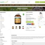 page produit site marchand dropshipping produit bio