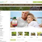 page catégorie site marchand dropshipping produit bio