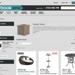 site e-commerce de décoration à vendre clé en main en dropshipping