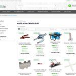 page catégories bricolage et jardinage e-commerce dropshipping