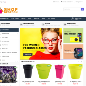 Site e-commerce en dropshipping cdiscountpro