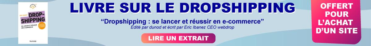 Livre-dropshipping-e-commerce-offert-webdrop-ibanez-eric-dunod