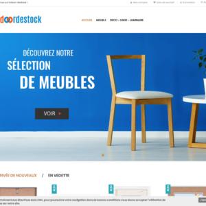 Site e-commerce (À VENDRE) en dropshipping meubles et décoration
