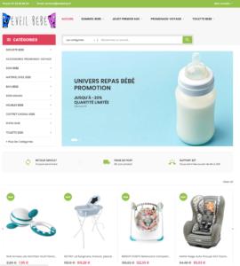 e-commerce puériculture jouet bébé