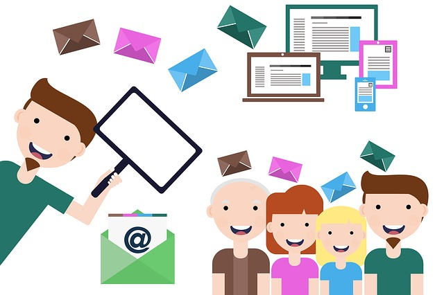 Segmentation contacts base mail marketing