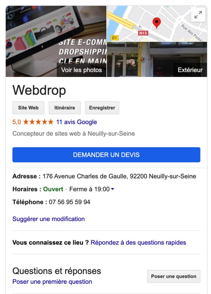 Avis du fournisseur en Dropshipping Webdrop. Ce fournisseur en Dropshipping à une note de 5/5.