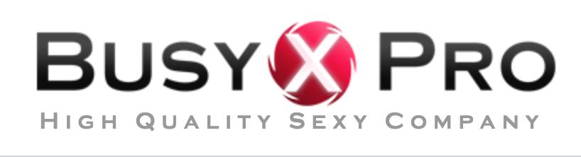Busy-XPRO Fournisseur sextoys lingerie adutle