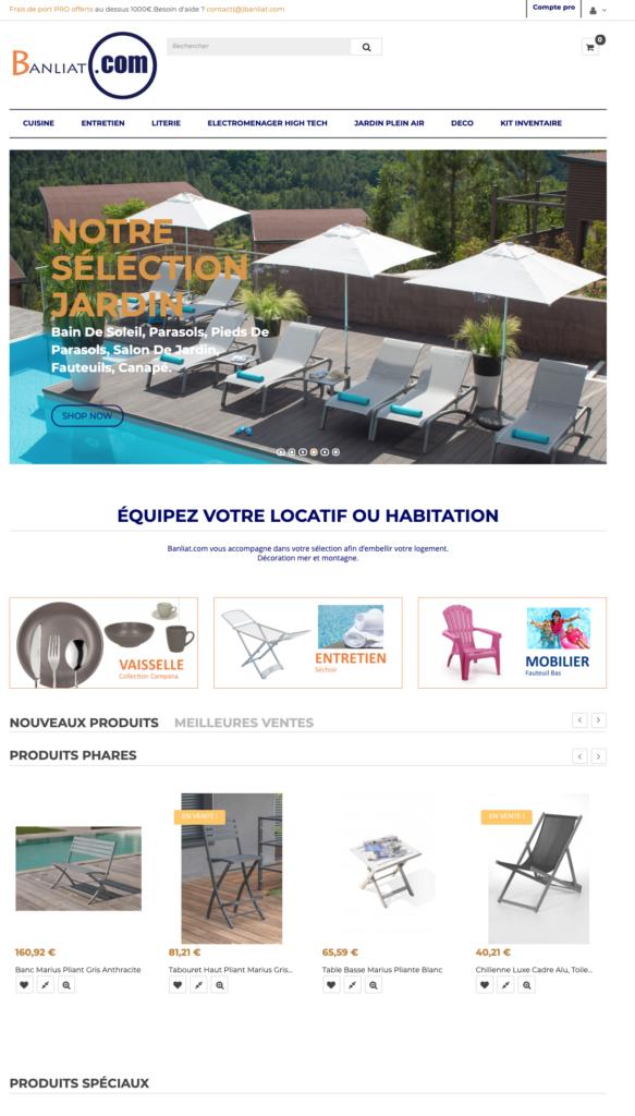 Fournisseur français meuble et décoration