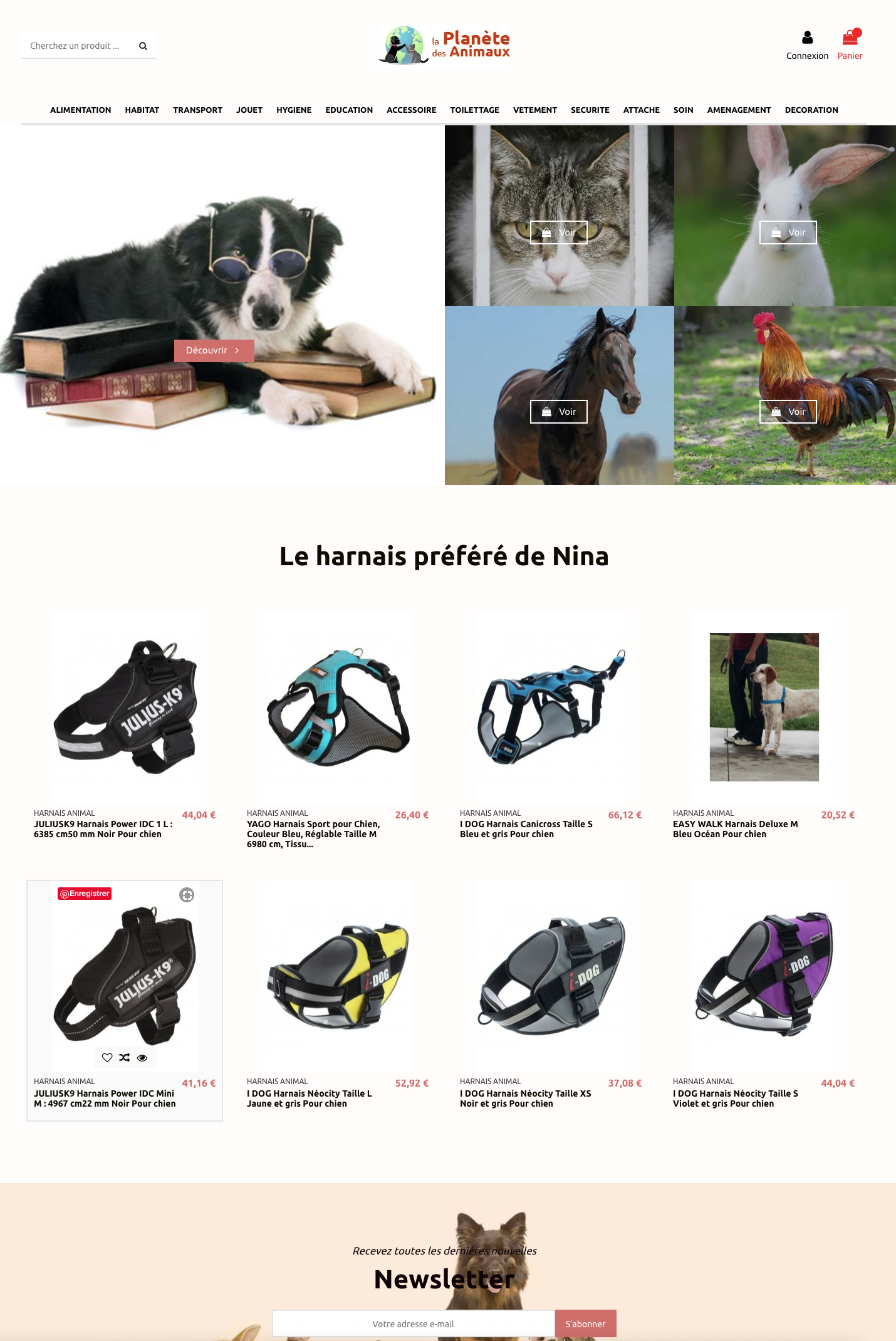 Site dropshipping animalerie fournisseur france