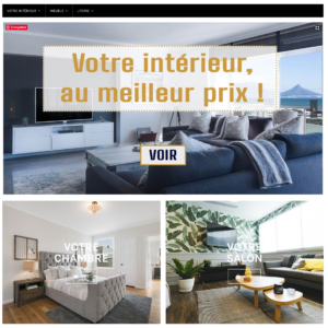 Site dropshipping de décoration