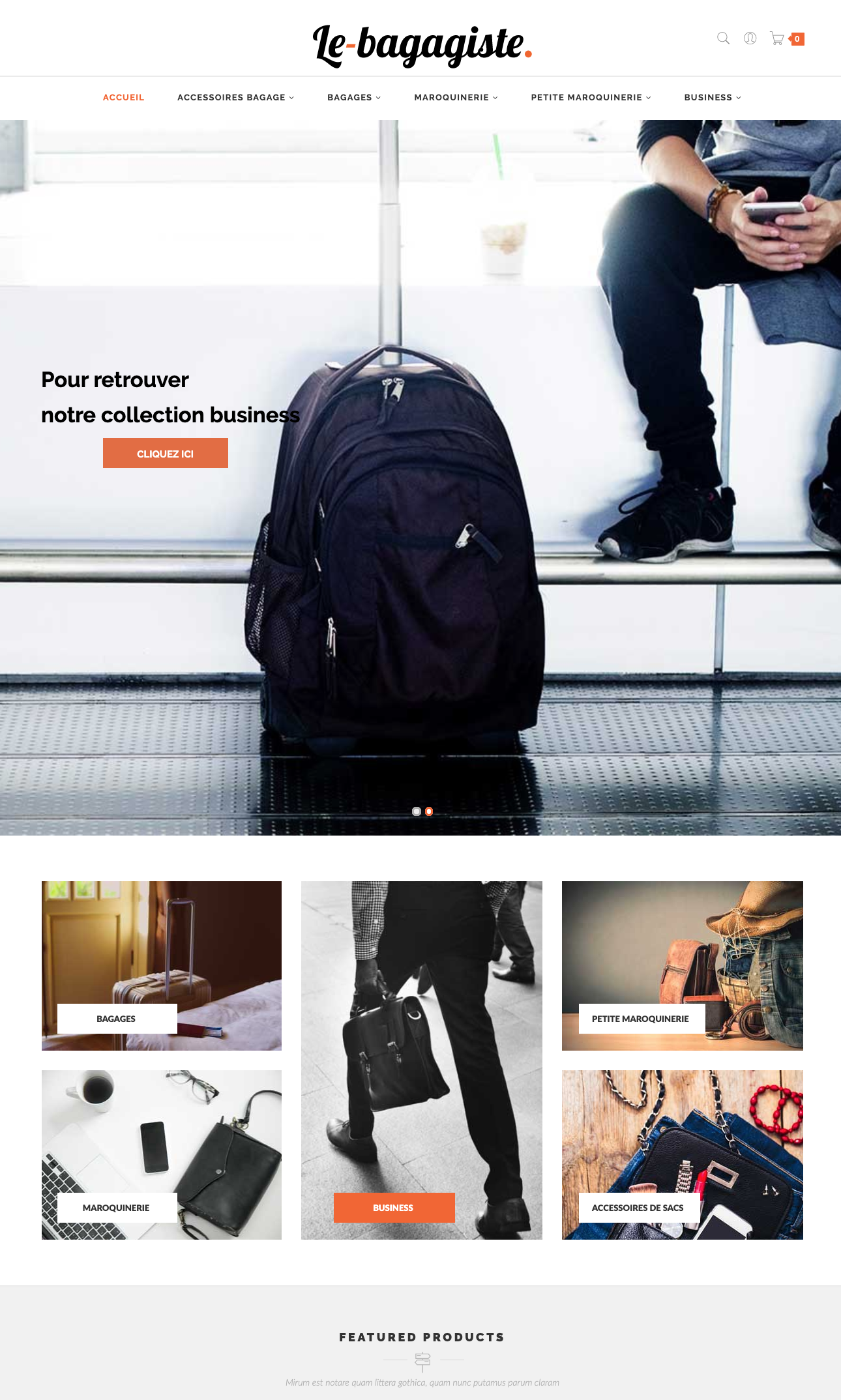 le-bagagiste dropshipping valise maroquinerie bagages